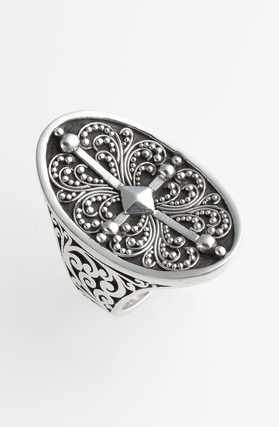 Main Image - Lois Hill 'Haveli' Granulated Saddle Ring