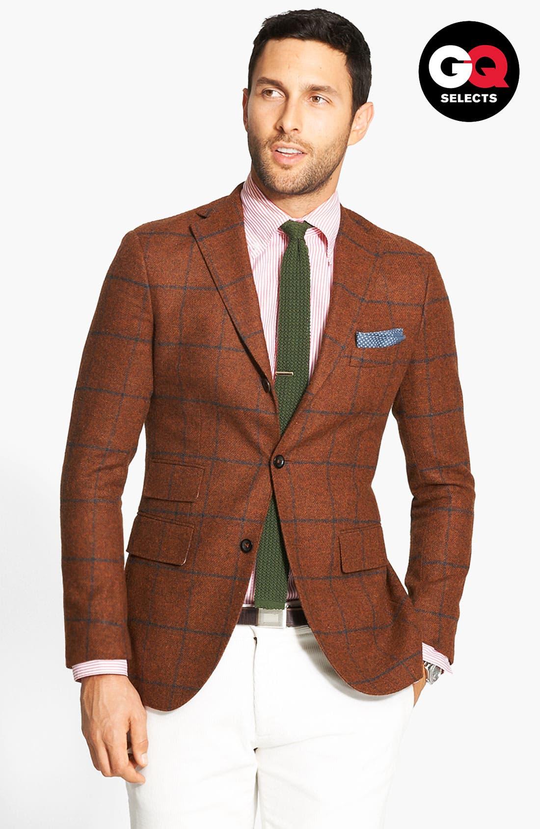 Alternate Image 1 Selected - Michael Bastian Three Button Jacket