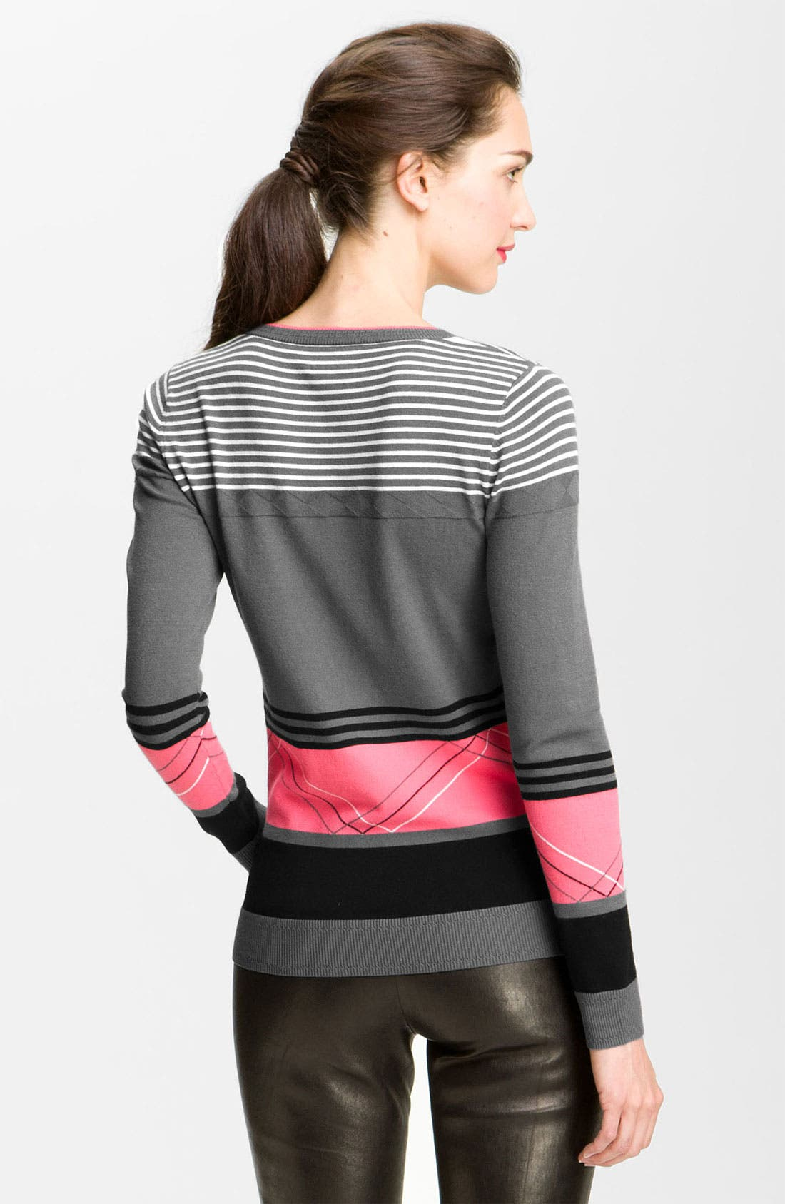 Alternate Image 2  - Milly 'Felicity' Colorblock Sweater