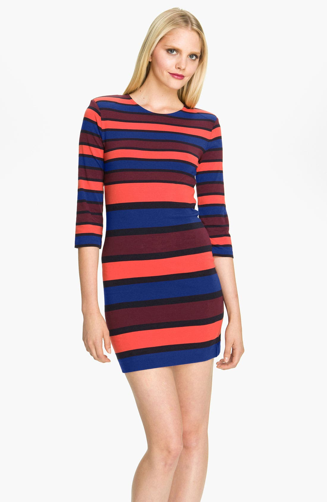 Alternate Image 1 Selected - French Connection 'Kiren' Stripe Jersey Dress