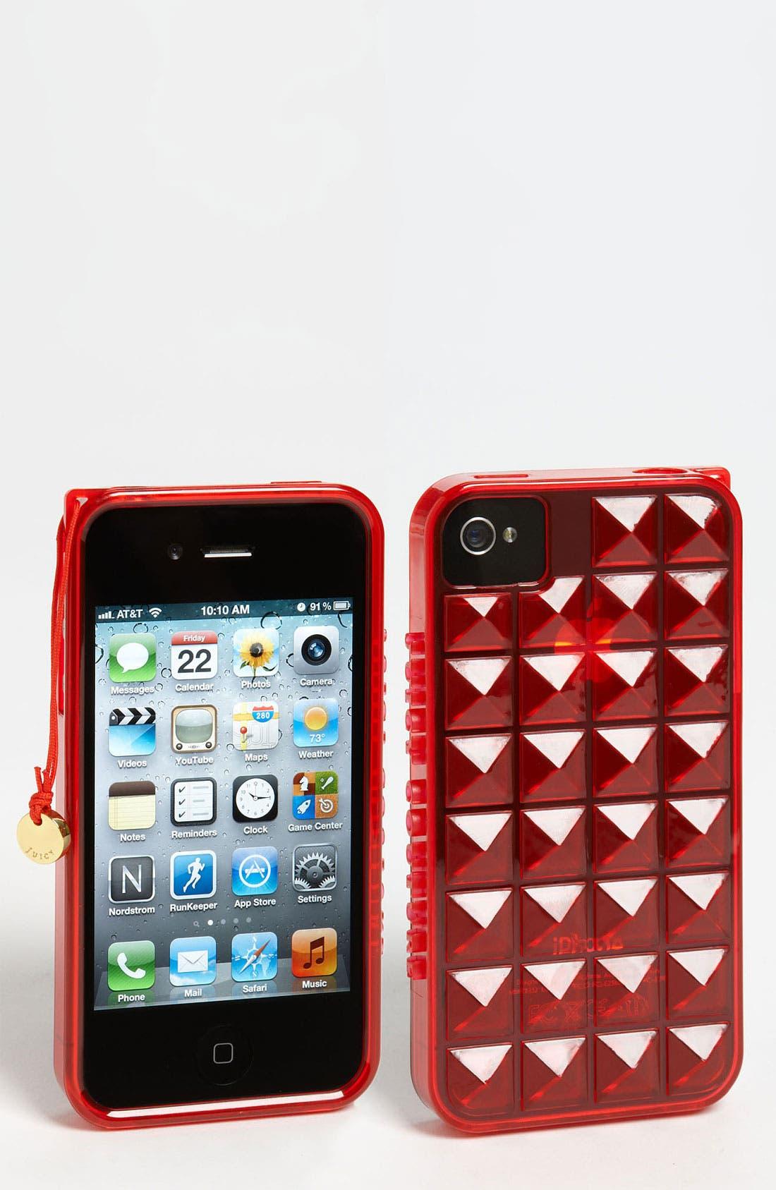 Main Image - Juicy Couture 'Pyramid Gelli' iPhone 4 & 4S Case