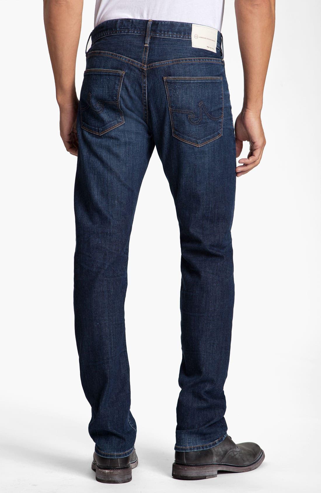 Alternate Image 2  - AG Jeans 'Geffen' Easy Slim Straight Leg Jeans (Seven Year)