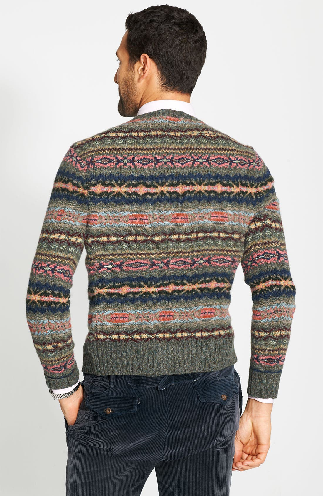 Alternate Image 2  - Polo Ralph Lauren Fair Isle Sweater