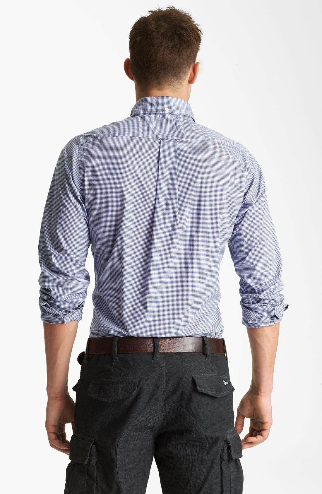 Alternate Image 2  - Gant by Michael Bastian Gingham Sport Shirt