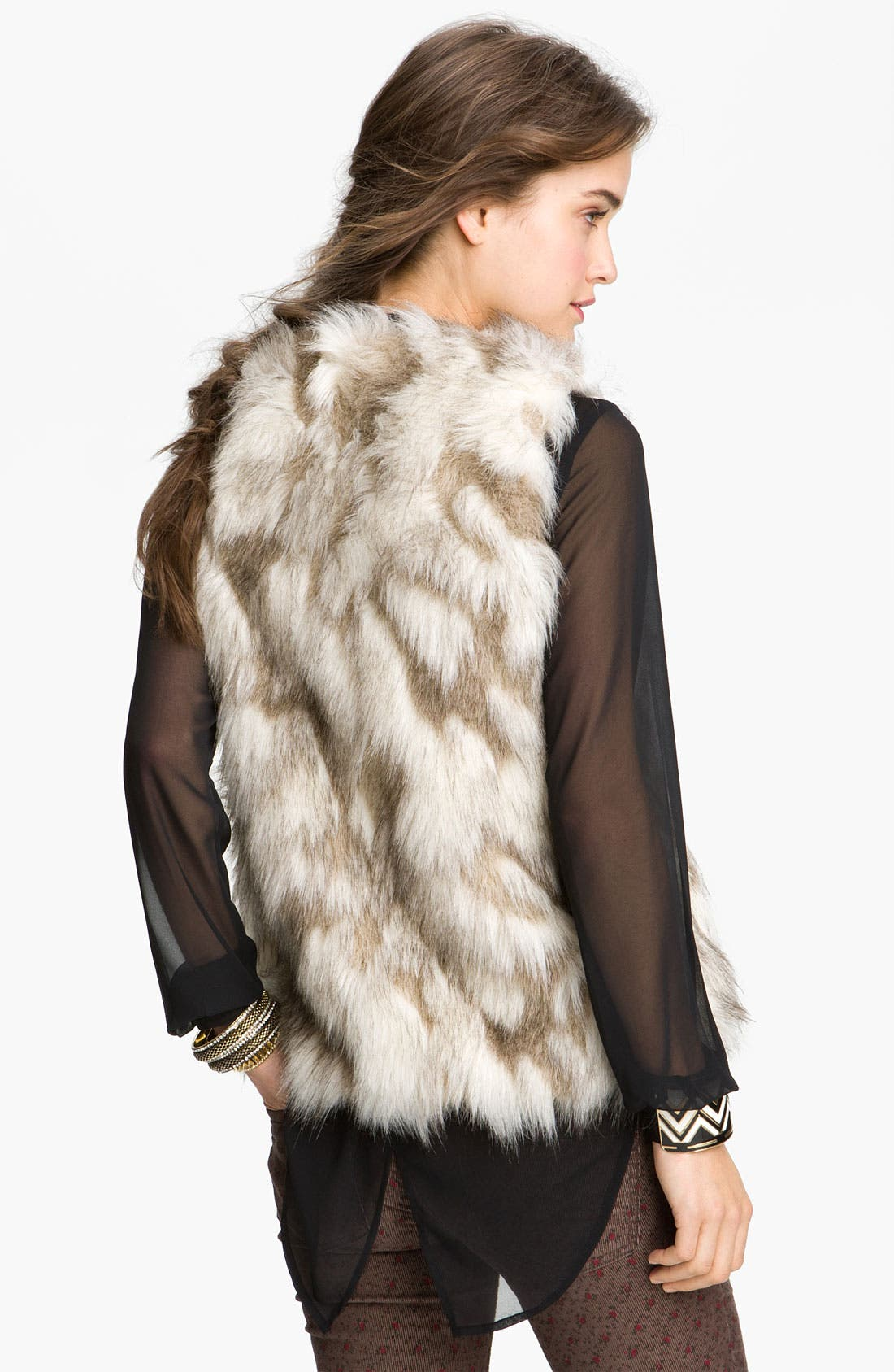 Alternate Image 2  - Free People Faux Fur Vest