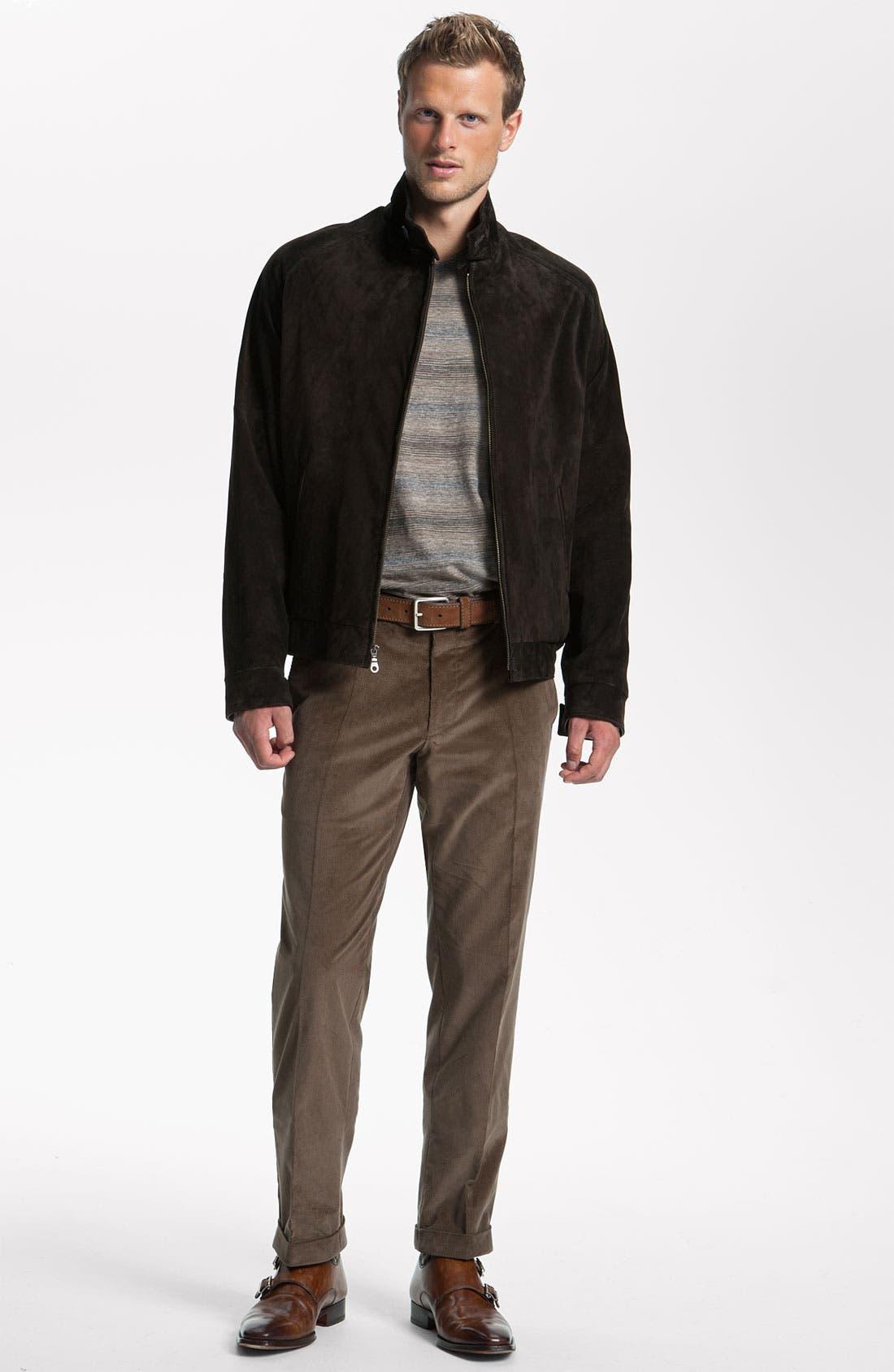 Alternate Image 4  - Remy Leather Calf Suede Barracuda Jacket