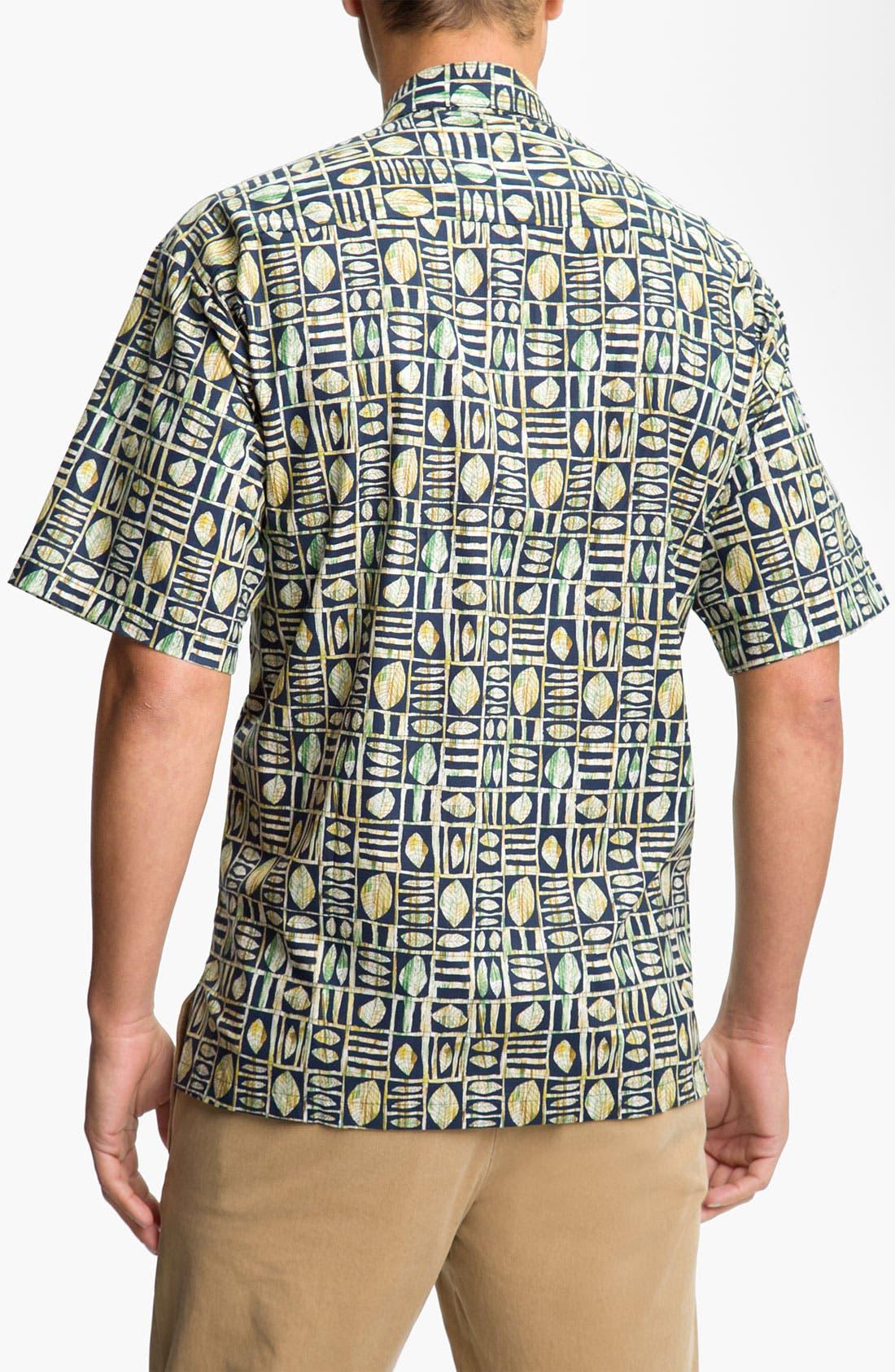 Alternate Image 2  - Tori Richard 'Leaf in Box' Cotton Lawn Sport Shirt