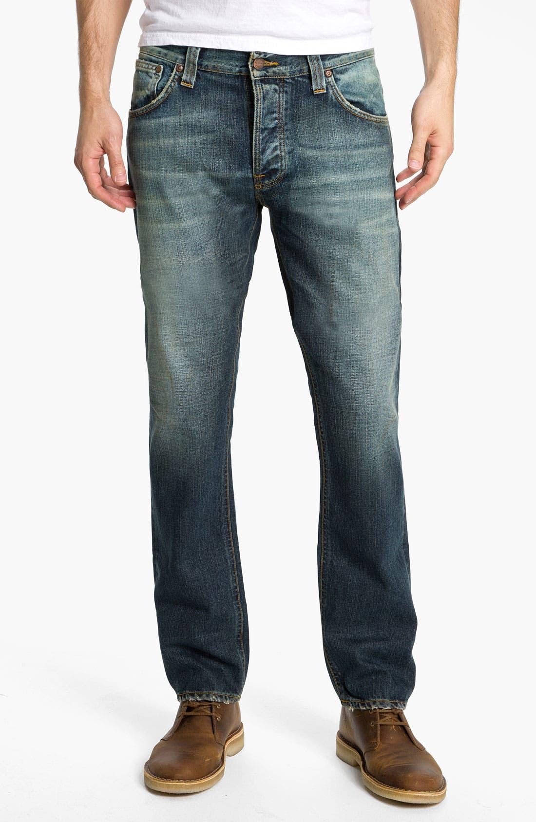 Alternate Image 2  - Nudie 'Hank Rey' Straight Leg Jeans (Organic Used Favorite)