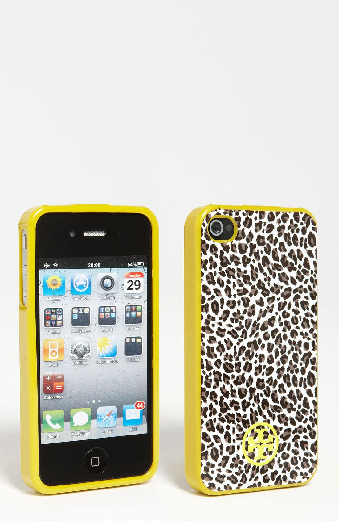 Main Image - Tory Burch 'Dunraven' Soft Shell iPhone 4 & 4S Case
