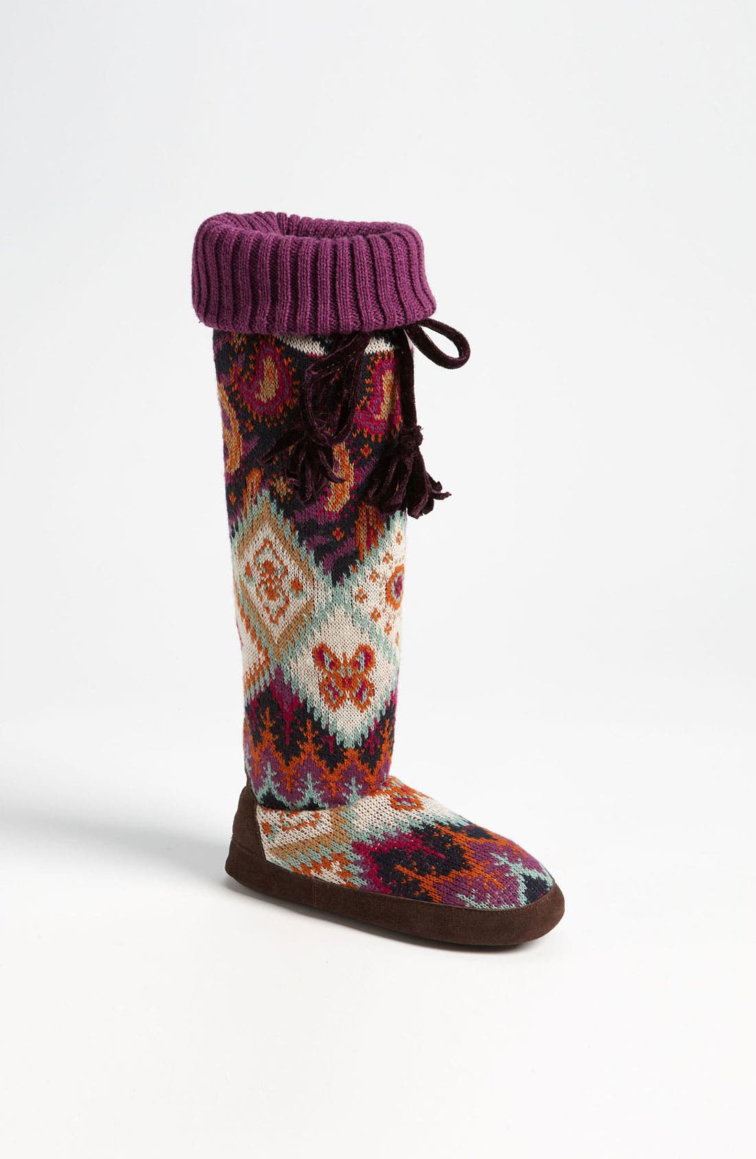 Alternate Image 1 Selected - MUK LUKS 'Angie Boho' Over the Knee Slipper