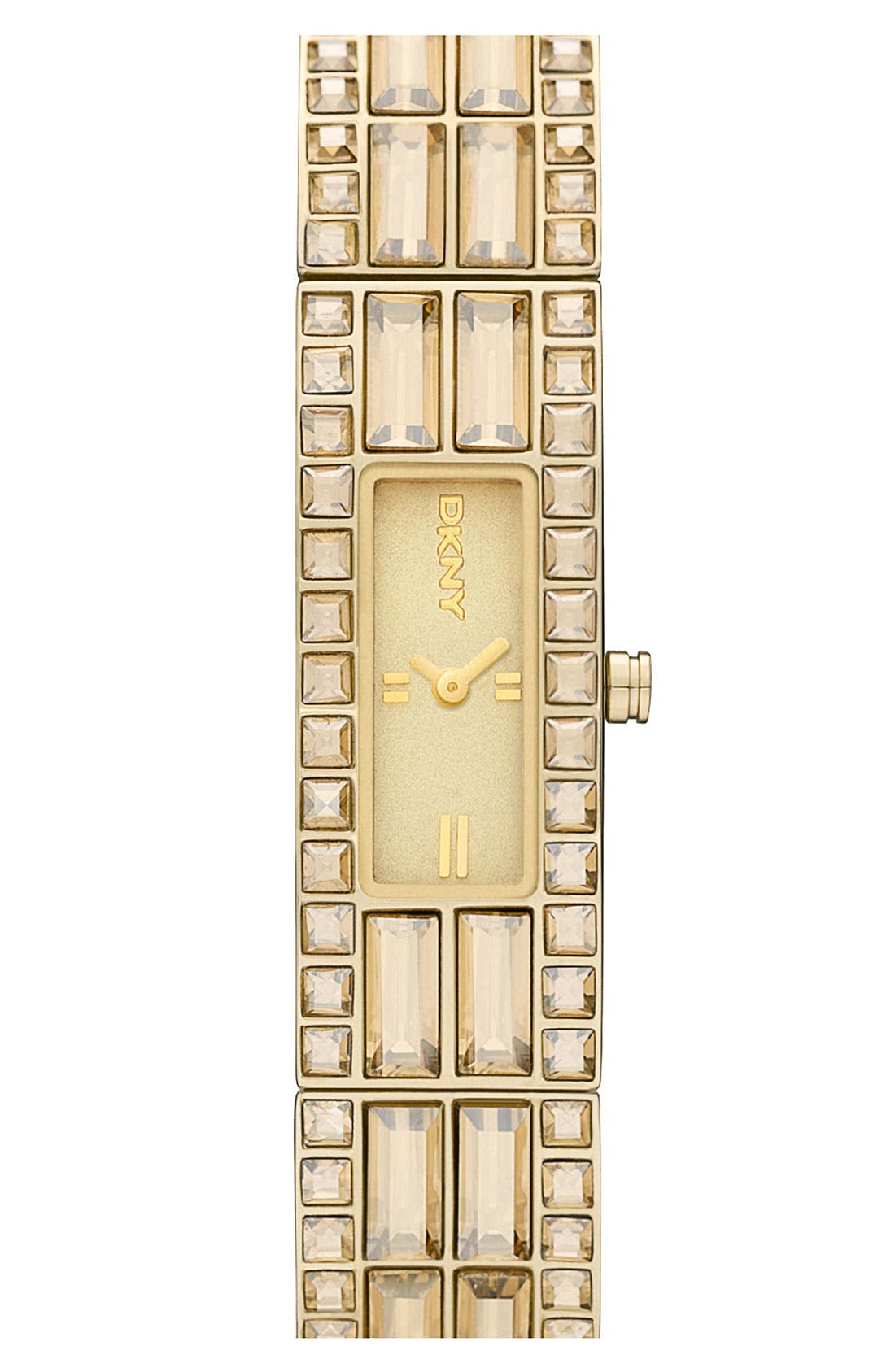 Alternate Image 1 Selected - DKNY 'Beekman' Slim Bangle Watch, 33mm