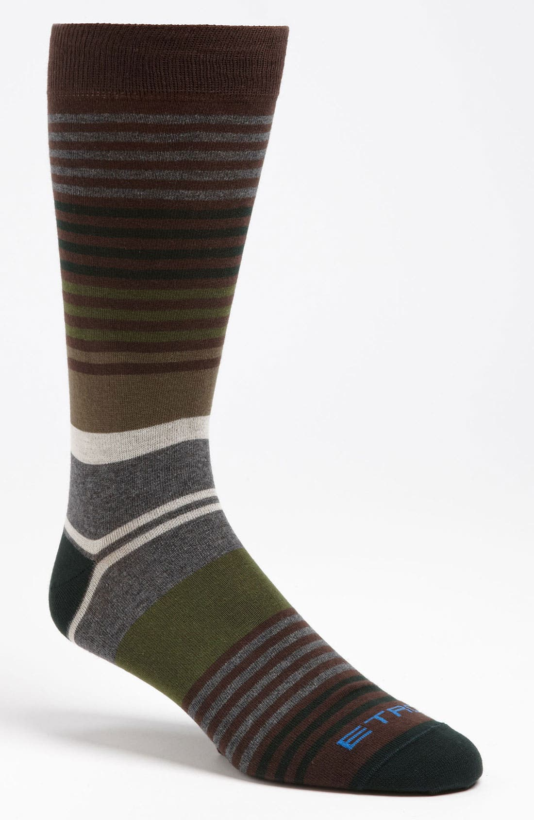 Alternate Image 1 Selected - Etro Stripe Cotton Blend Socks