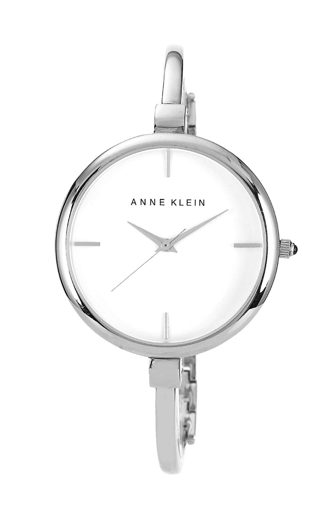Main Image - Anne Klein Round Bangle Watch