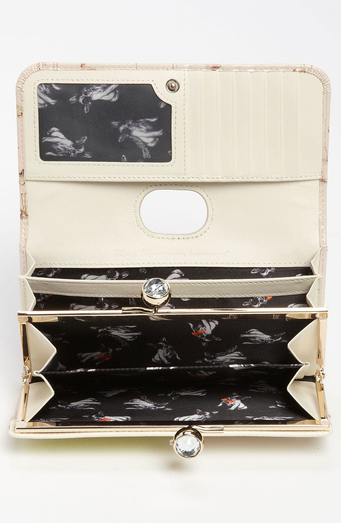 Alternate Image 3  - Ted Baker London 'Flamingo Print' Matinee Wallet