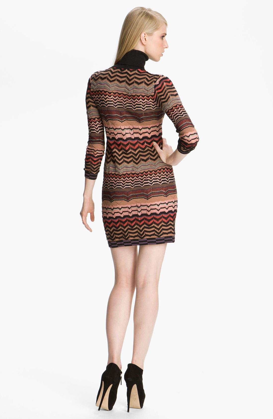 Alternate Image 2  - M Missoni Zigzag Tube Dress