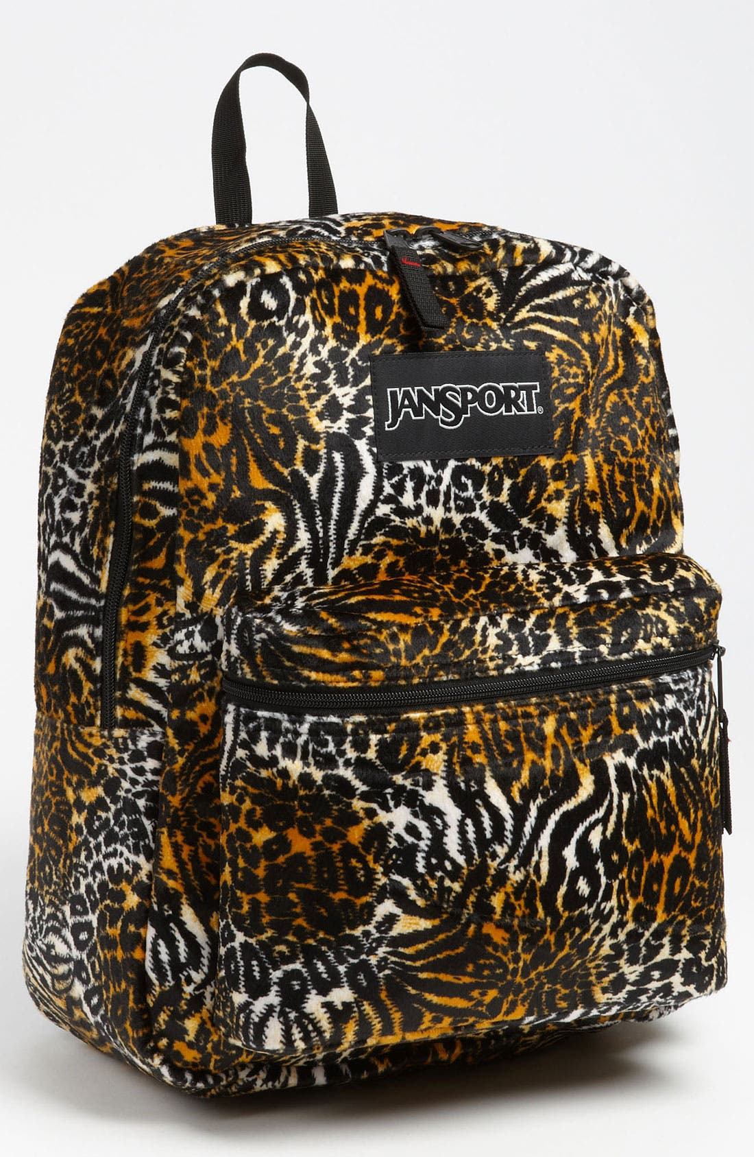 Alternate Image 1 Selected - Jansport Animal Print Reversible Backpack