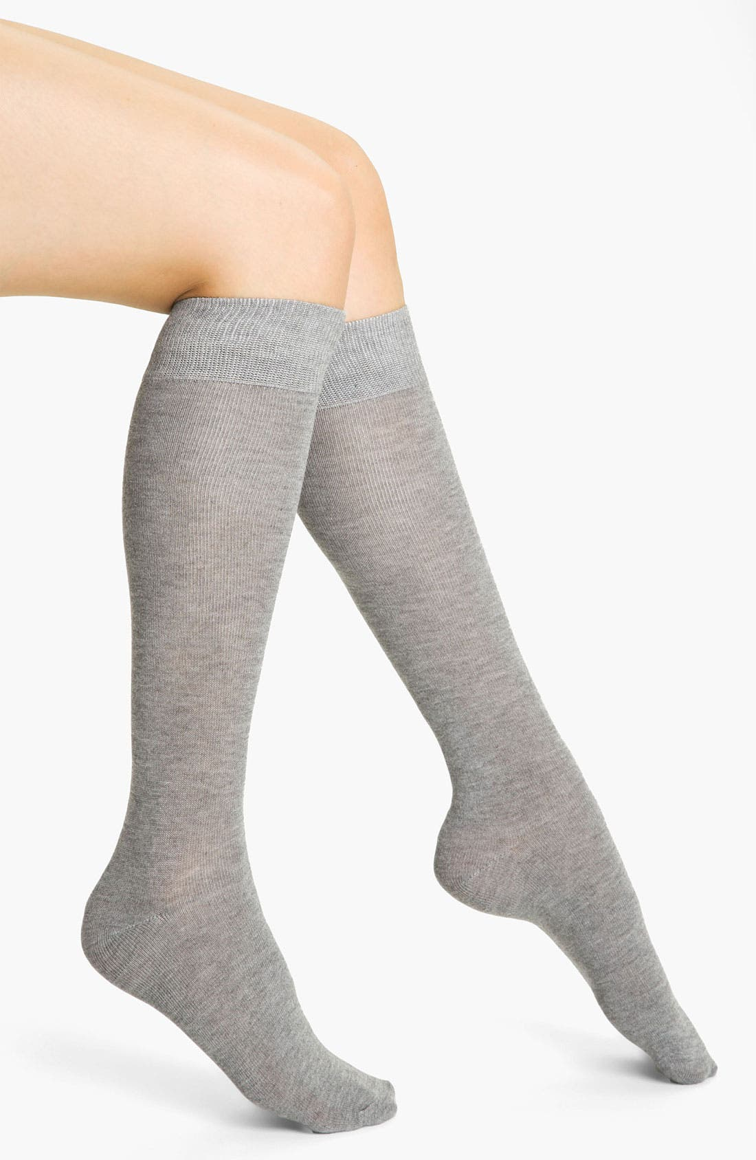 Main Image - Nordstrom Heathered Knee High Socks (3 for $18)