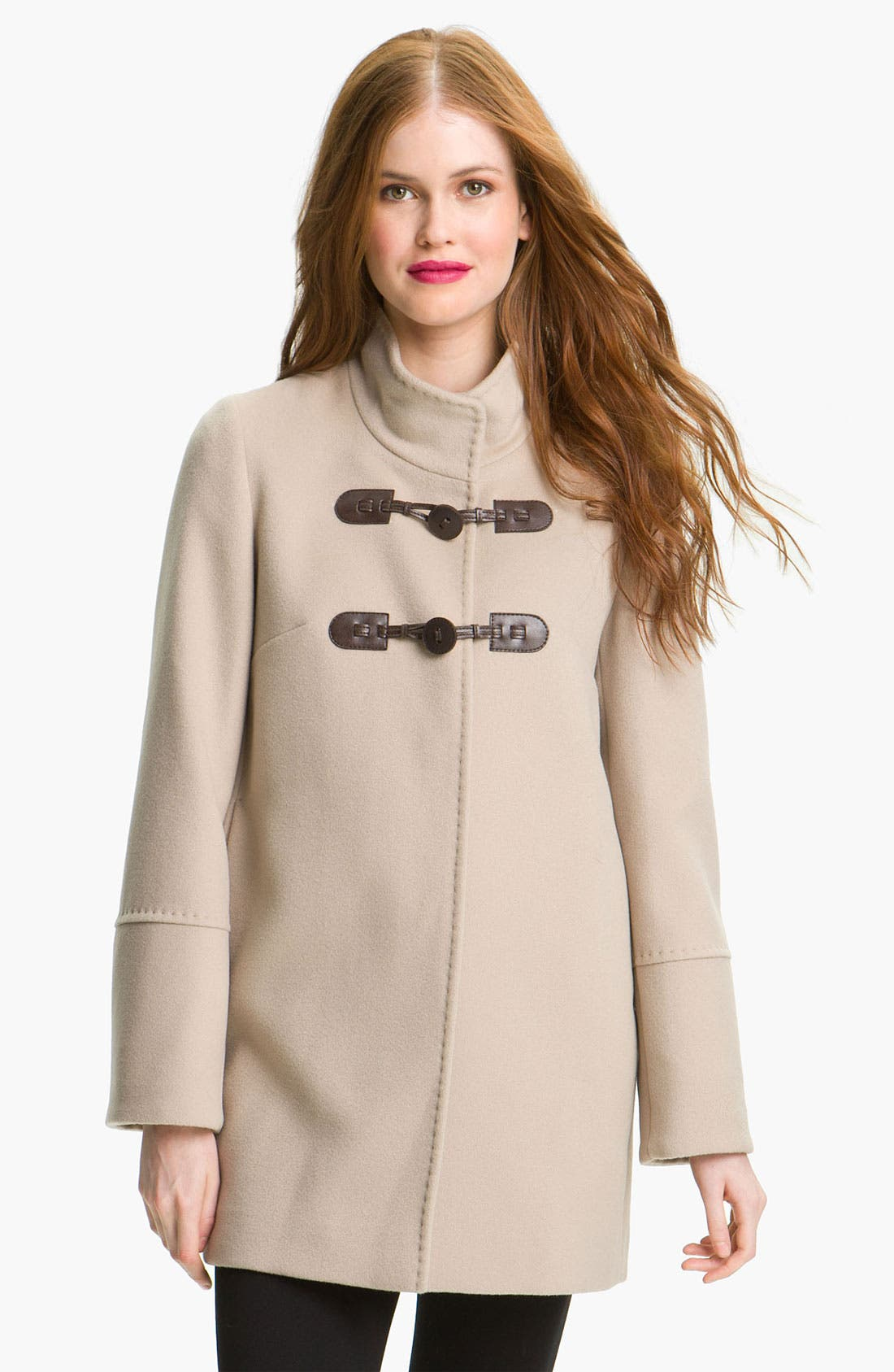 Alternate Image 1 Selected - Cinzia Rocca Wool Duffle Coat