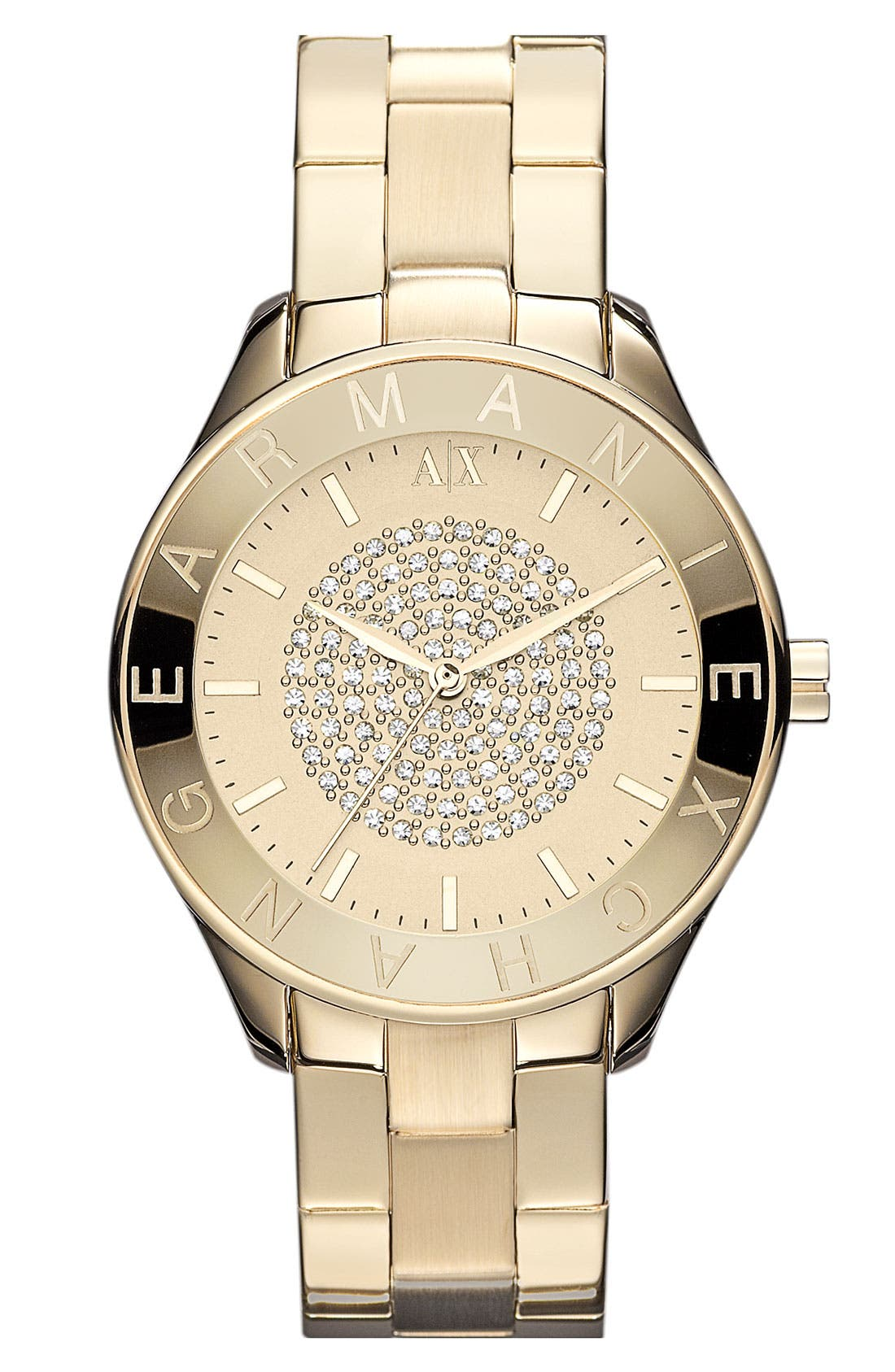 Alternate Image 1 Selected - AX Armani Exchange Round Bracelet Watch, 40mm (Online Only)