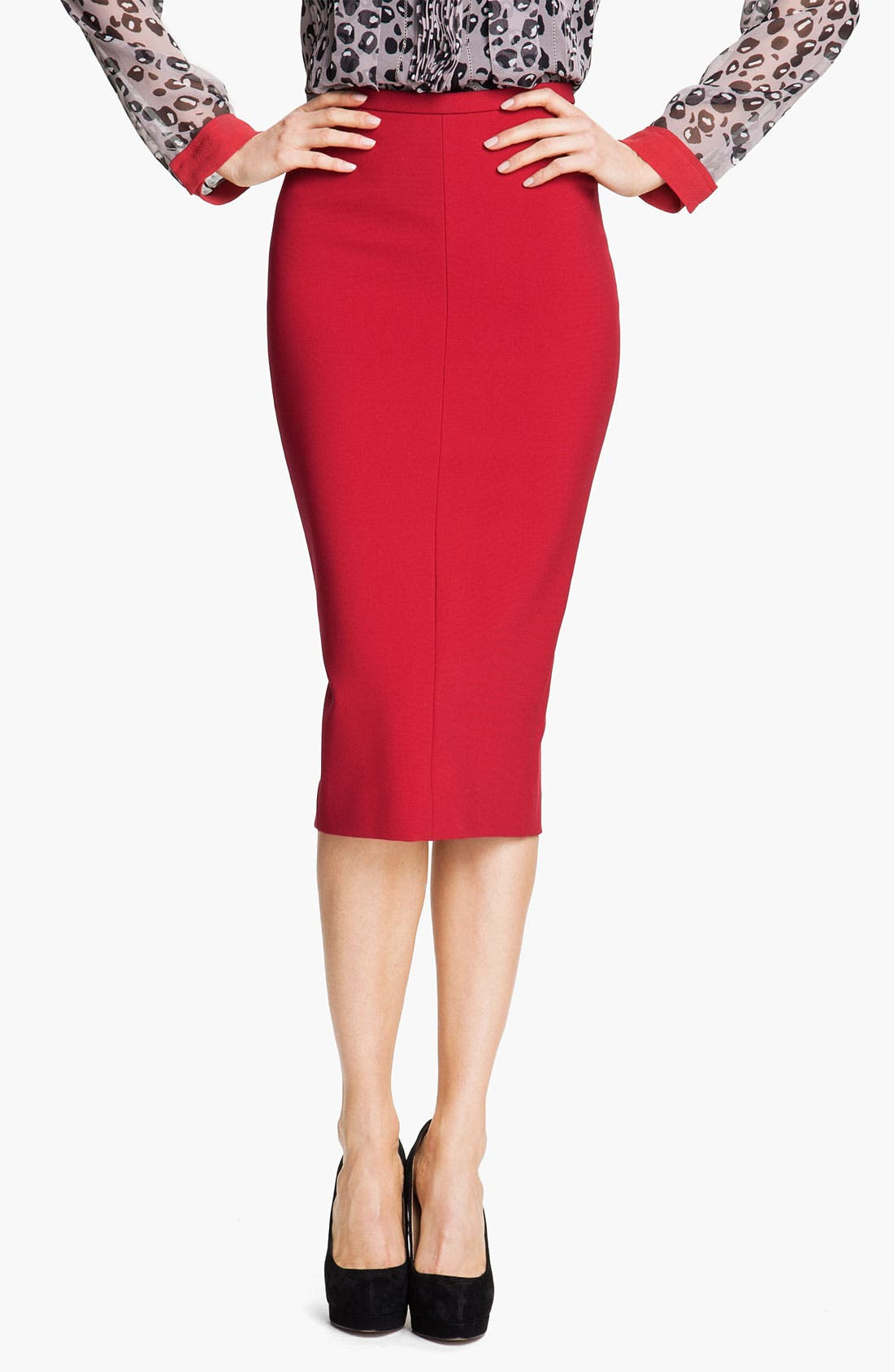 Alternate Image 1 Selected - Diane von Furstenberg 'Samara' Pencil Skirt