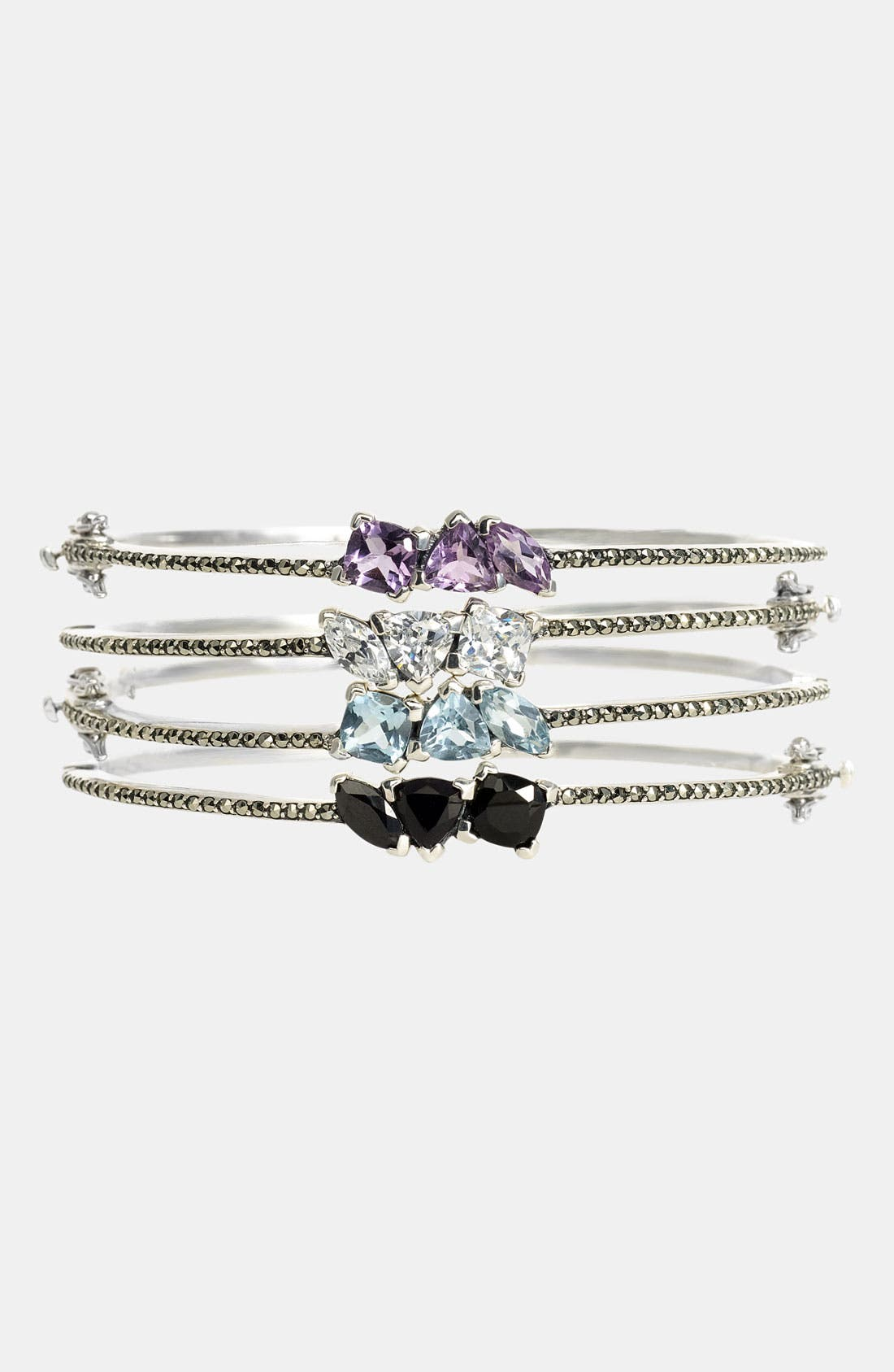 Main Image - Judith Jack Triple Stone Bangle