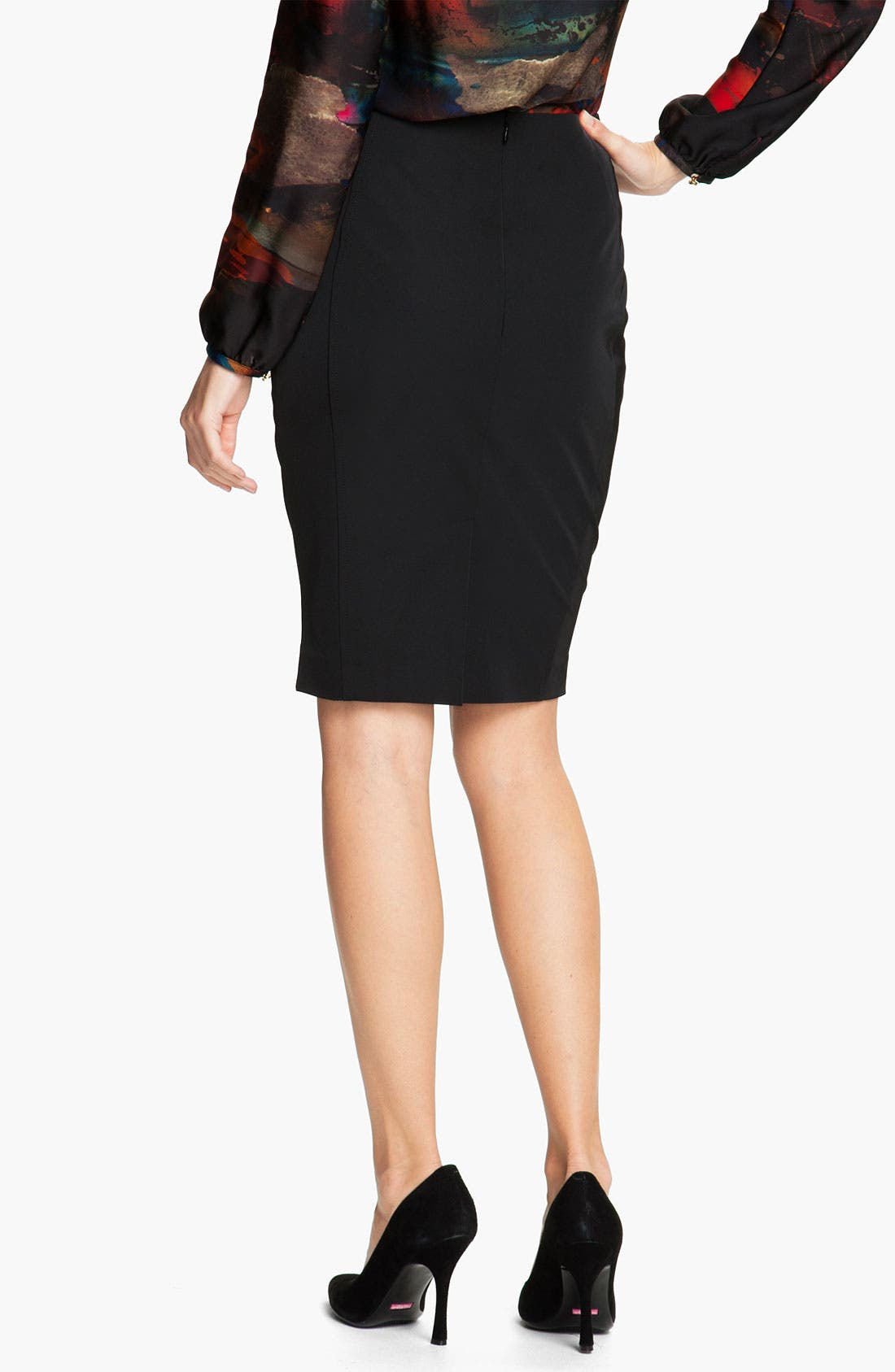 Alternate Image 2  - Ted Baker London Techno Stretch Pencil Skirt