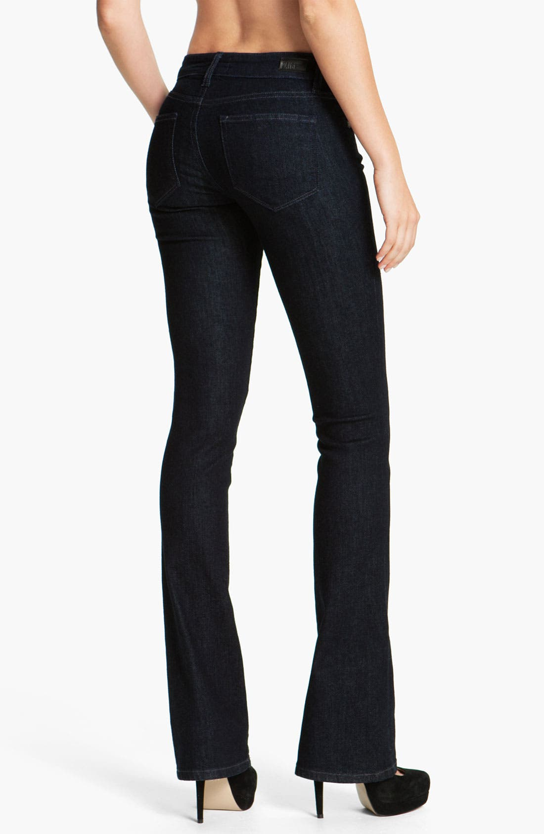 Alternate Image 2  - Paige Denim 'Manhattan' Baby Bootcut Jeans (Darkness)