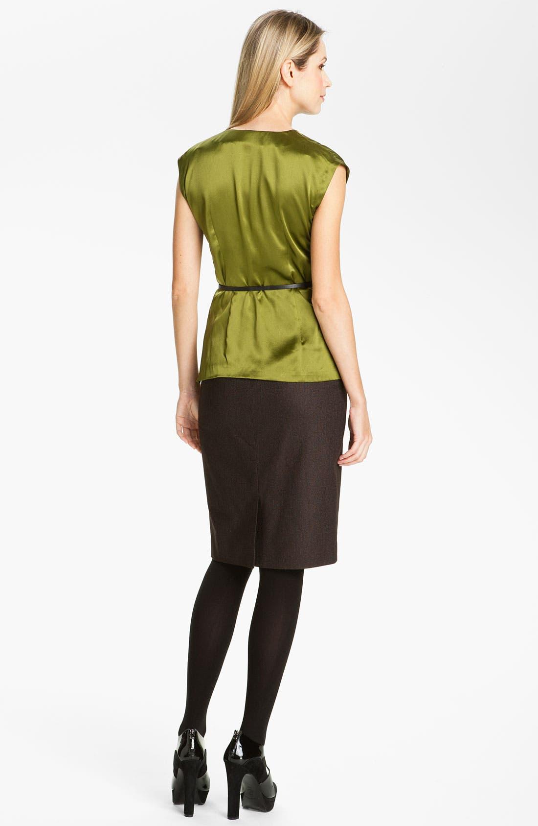 Alternate Image 5  - Classiques Entier® 'Stella Weave' Skirt