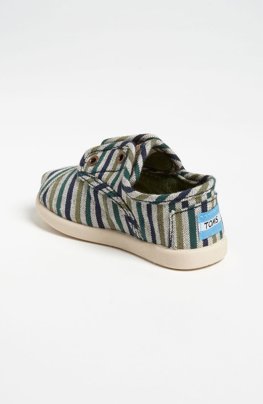 Alternate Image 2  - TOMS 'Cordones Tiny - Renato' Slip-On (Baby, Walker & Toddler)