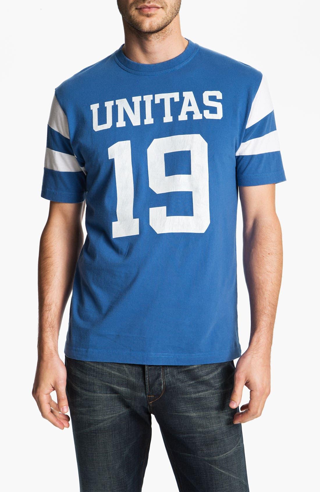 Alternate Image 1 Selected - Red Jacket 'Johnny Unitas - Nickel' T-Shirt