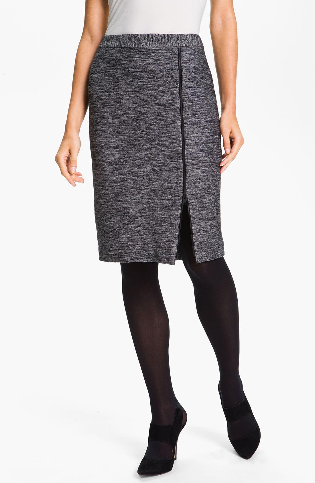 Alternate Image 1 Selected - Classiques Entier® 'Horizon' Double Knit Pencil Skirt