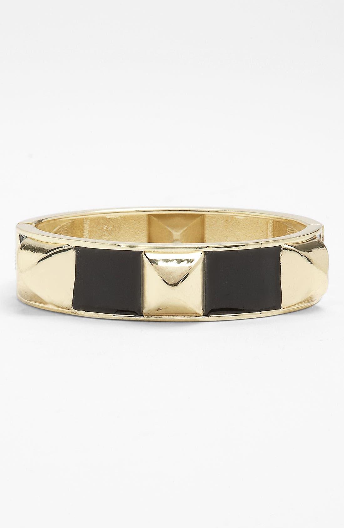 Alternate Image 1 Selected - Stephan & Co. Pyramid Stud Bracelet