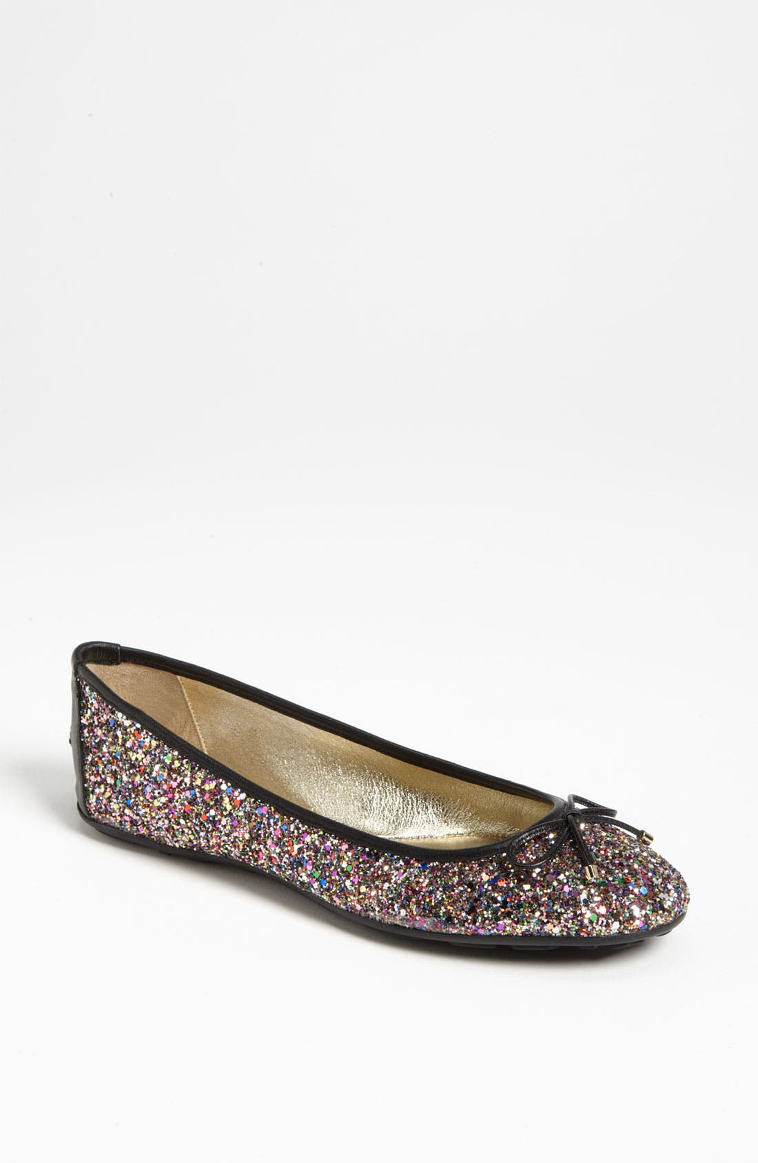 Alternate Image 1 Selected - Jimmy Choo 'Walsh' Glitter Flat