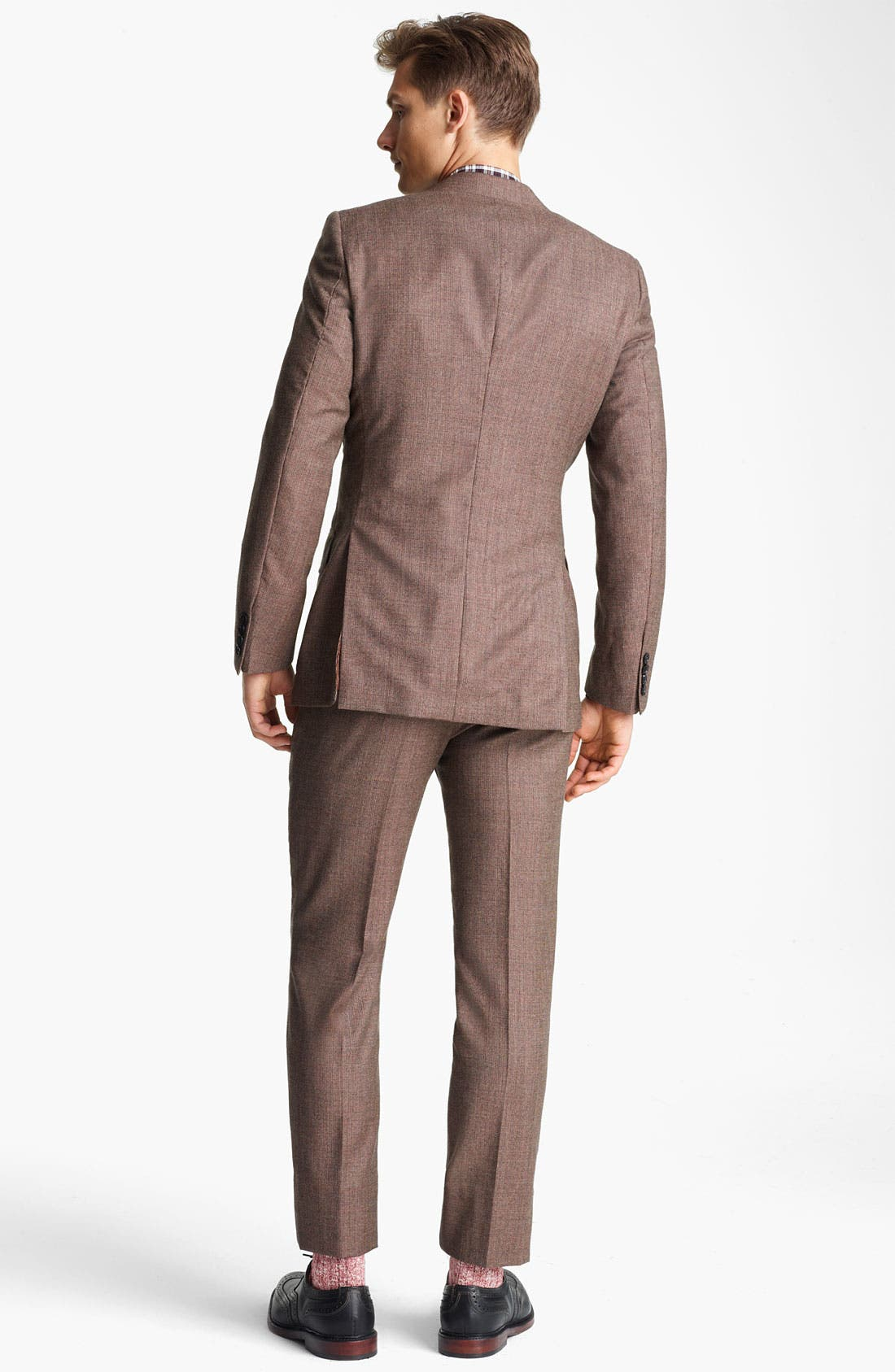 Alternate Image 3  - Billy Reid 'Campbell - Heirloom Collection' Tweed Suit