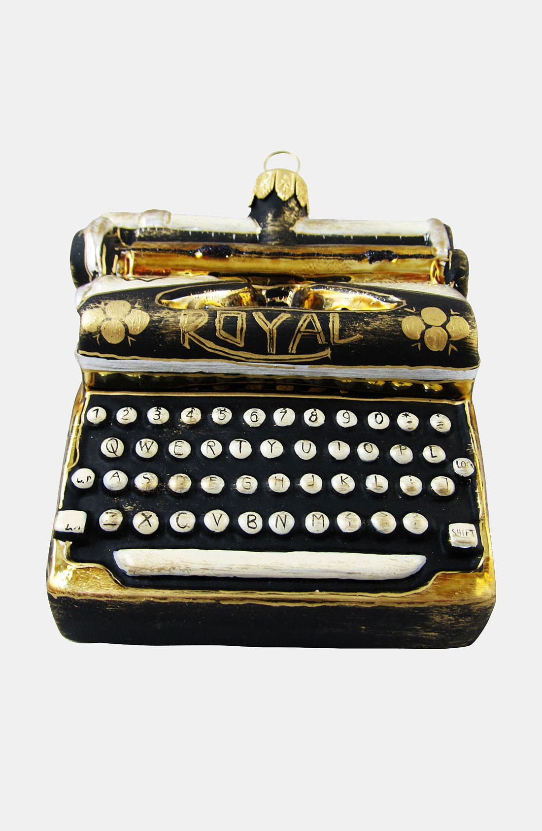 Alternate Image 1 Selected - Nordstrom at Home 'Antique Typewriter' Ornament