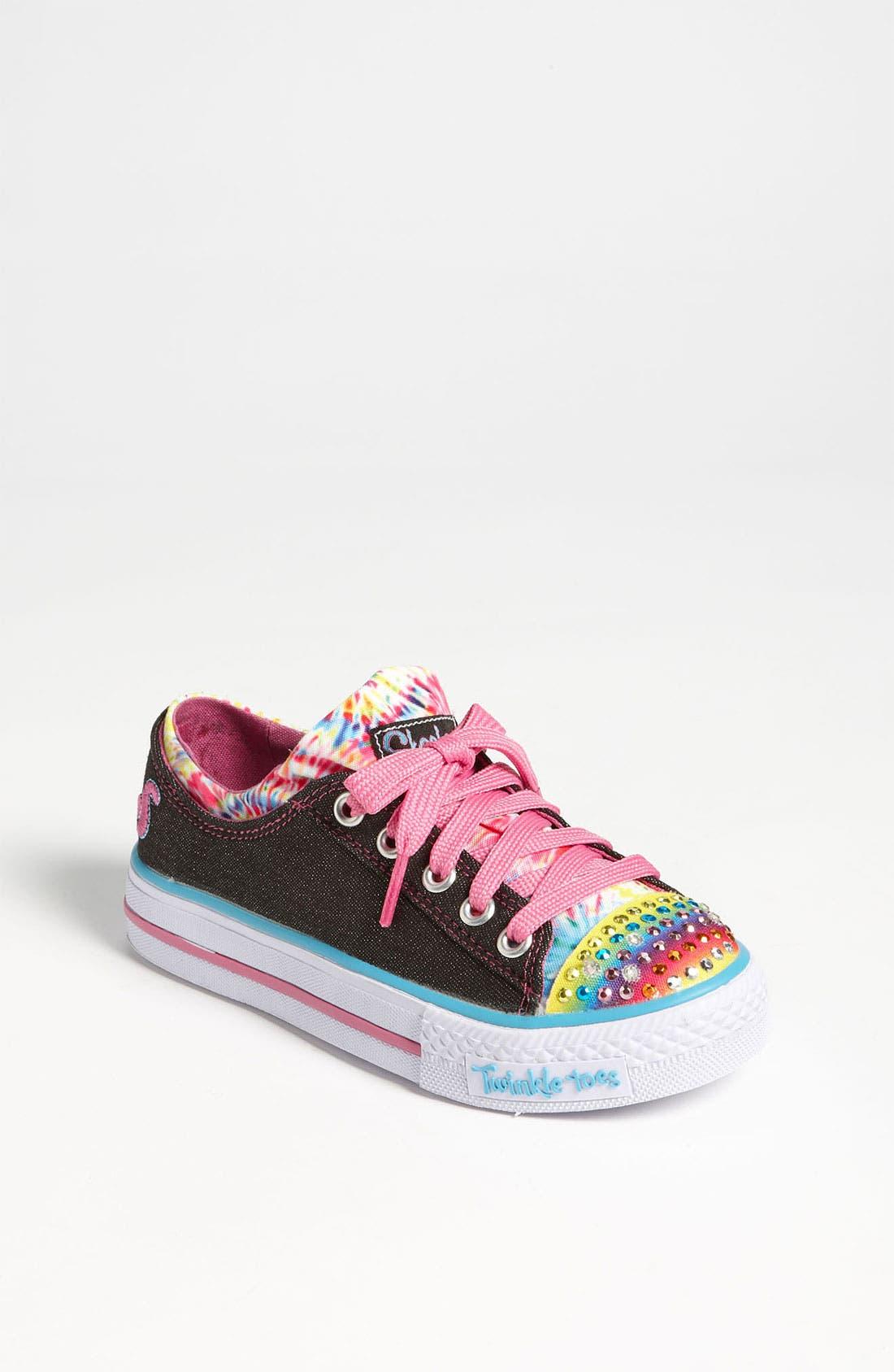 Main Image - SKECHERS 'Shuffle Ups - Much Love' Sneaker (Toddler & Little Kid)
