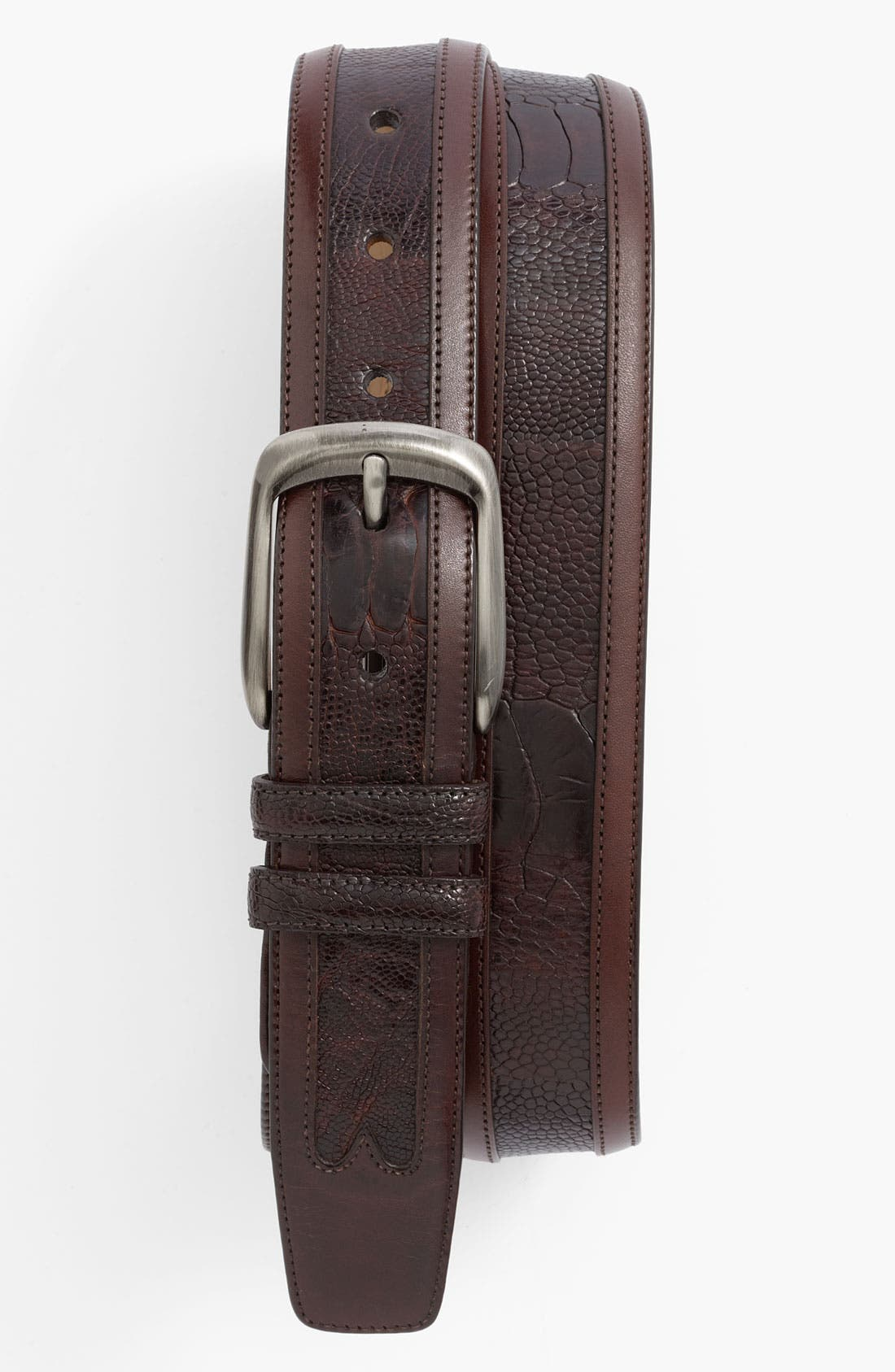 Alternate Image 1 Selected - Mezlan Ostrich Belt
