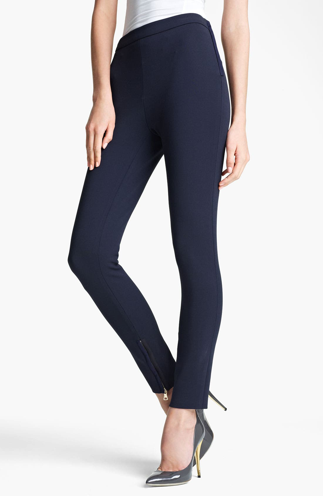 Alternate Image 1 Selected - Valentino Jersey Leggings