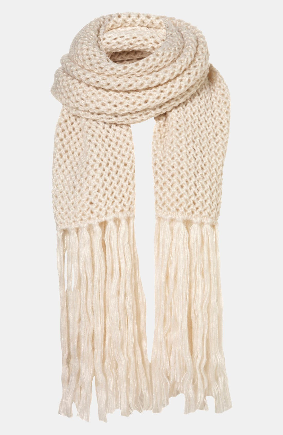 Alternate Image 1 Selected - Topshop 'Cross Stitch' Scarf