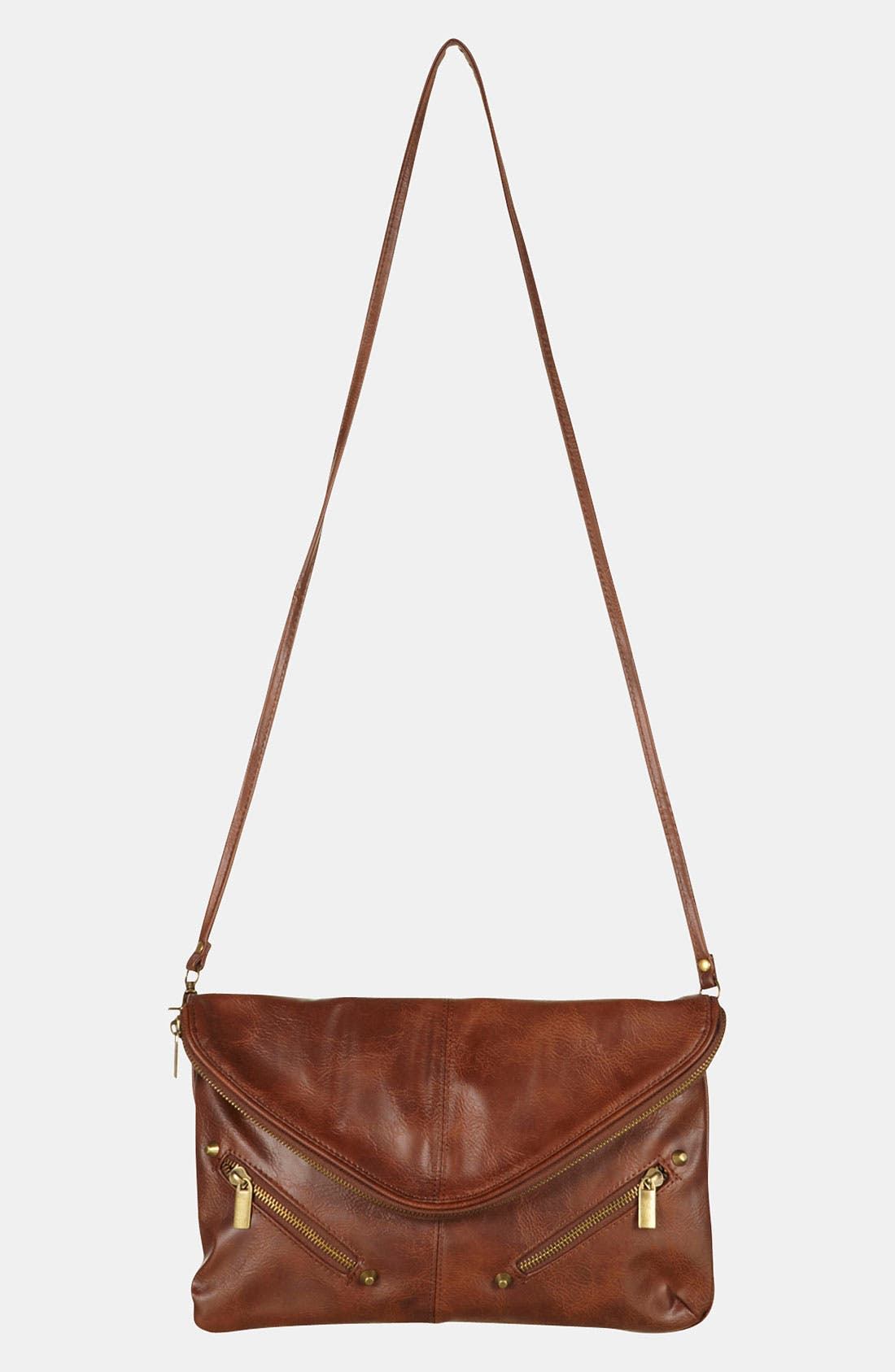 Alternate Image 2  - Topshop Zip Envelope Convertible Clutch