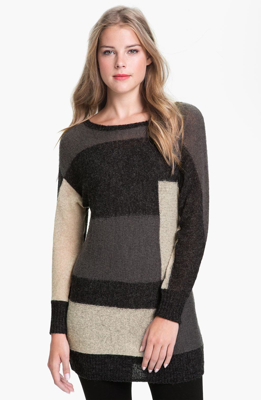 Alternate Image 1 Selected - Halogen® Color Block Sweater