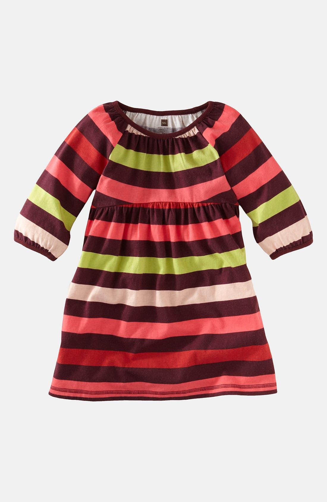 Alternate Image 1 Selected - Tea Collection 'Skola' Babydoll Dress (Little Girls & Big Girls)