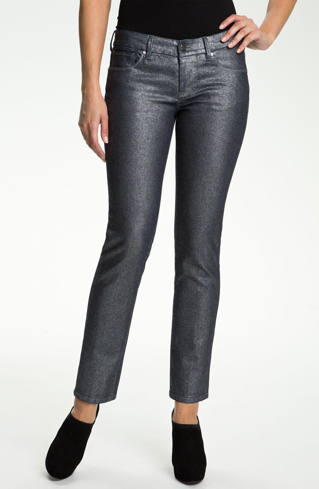 Alternate Image 1 Selected - Isaac Mizrahi Jeans 'Ali' Slim Straight Leg Jeans