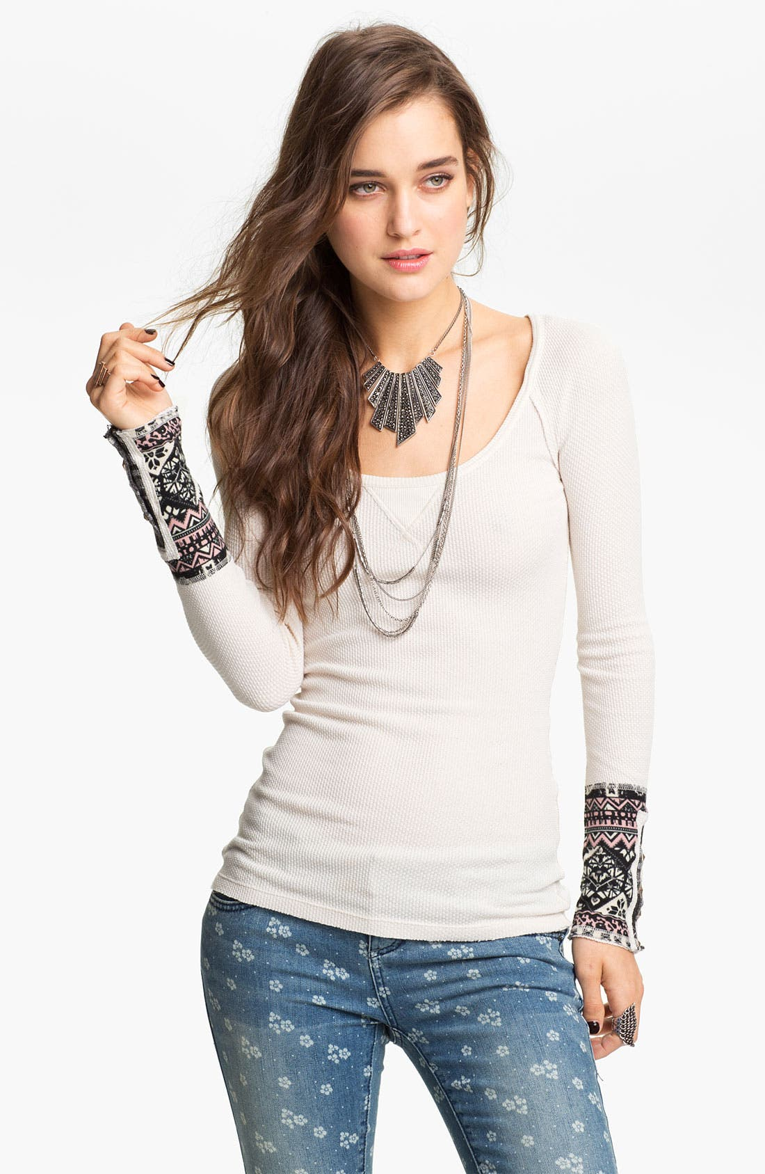 Main Image - Free People 'Hyperactive' Thermal Top