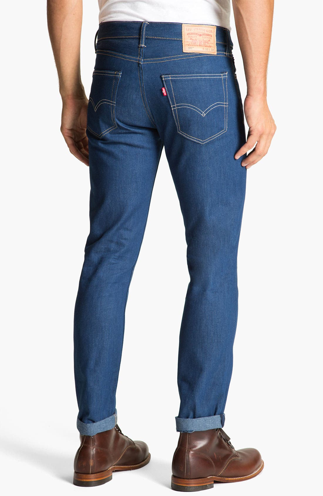 Alternate Image 1 Selected - Levi's® '511™' Skinny Leg Jeans (Recycled 3)