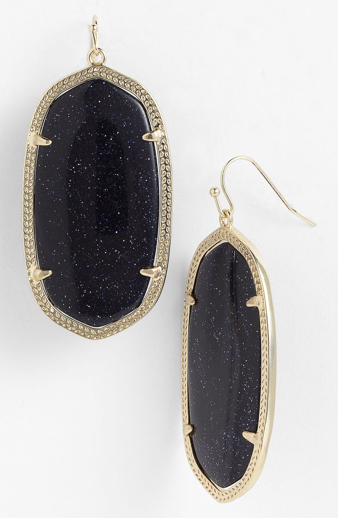 Main Image - Kendra Scott 'Danielle' Oval Statement Earrings