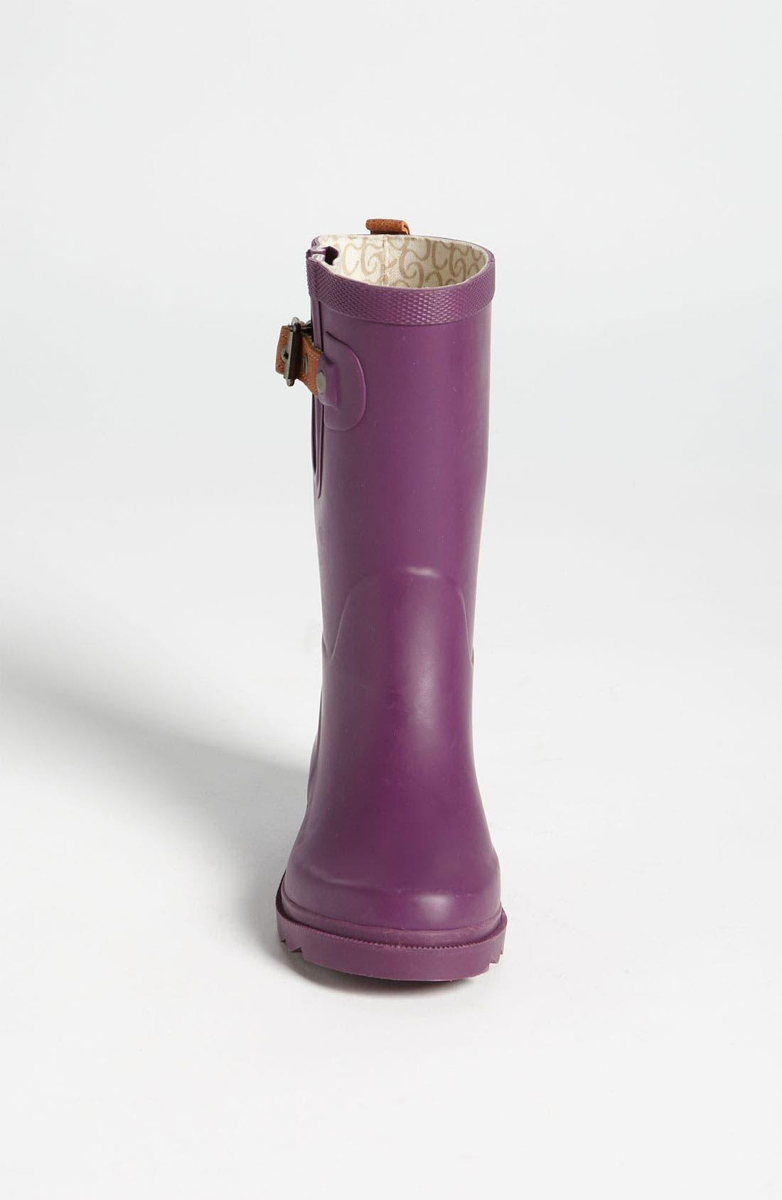Alternate Image 3  - Chooka 'Plum' Rain Boot (Toddler, Little Kid & Big Kid)