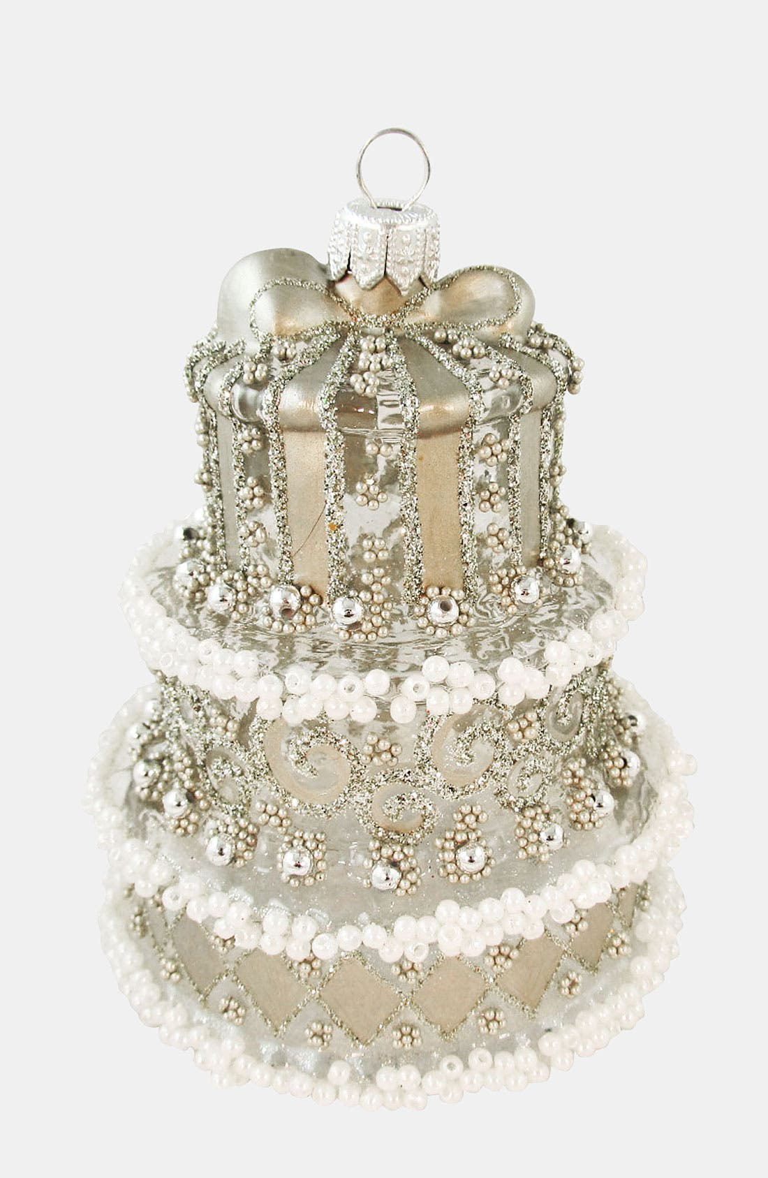 Alternate Image 1 Selected - Nordstrom at Home 'Wedding Cake' Ornament