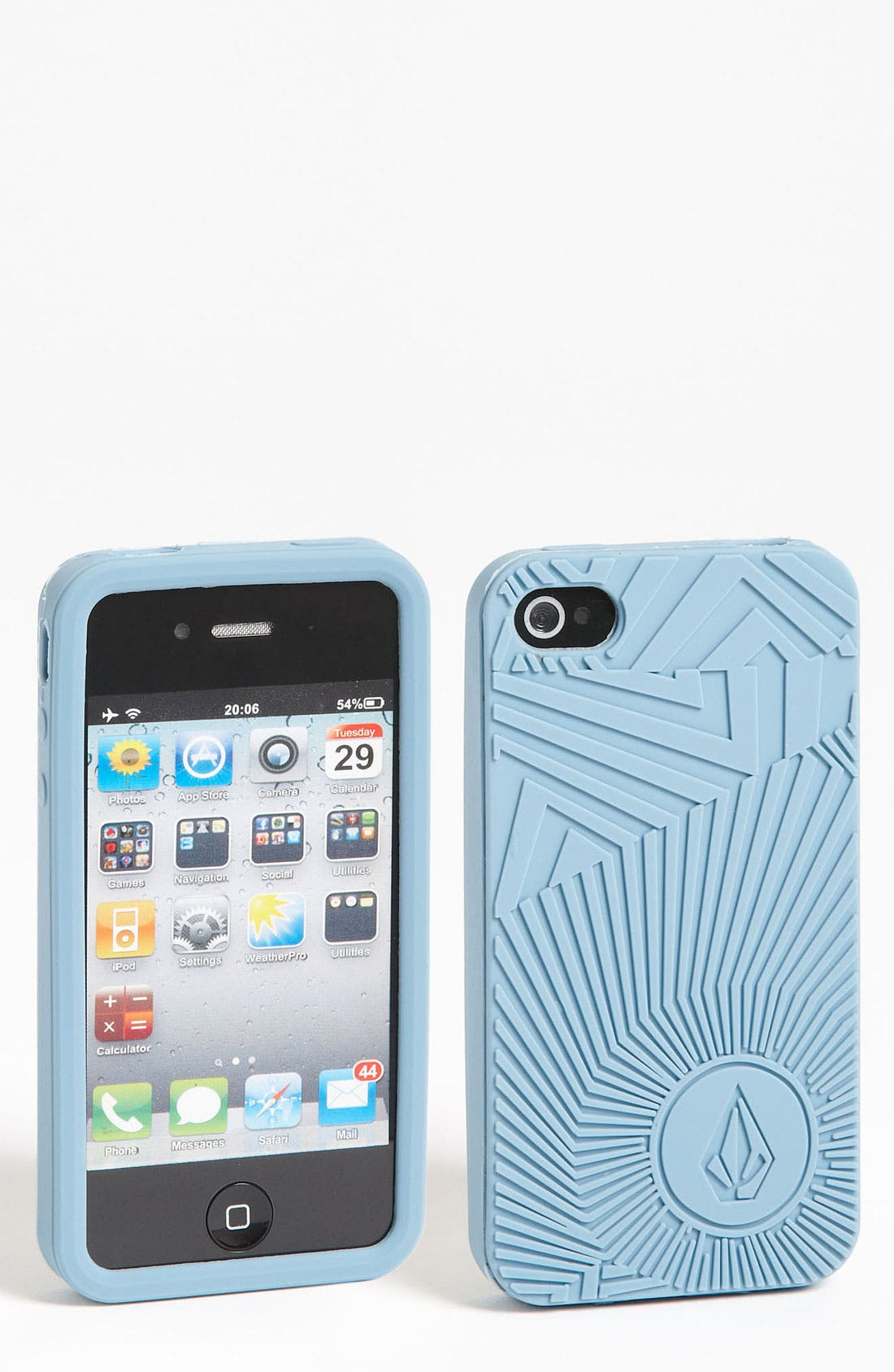Alternate Image 1 Selected - Volcom Silicone iPhone 4 & 4S Case