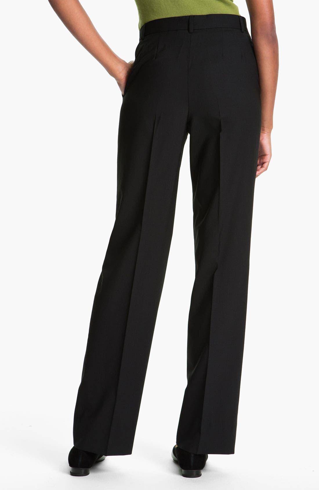 Alternate Image 2  - Zanella 'Goldie' Stretch Wool Pants